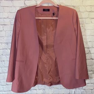 THEORY Lindrayia Traceable Wool Blend Blazer